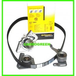 Pompe à Eau + Kit Distribution Peugeot 406  2.1 L Turbo Diesel : Carrogreen